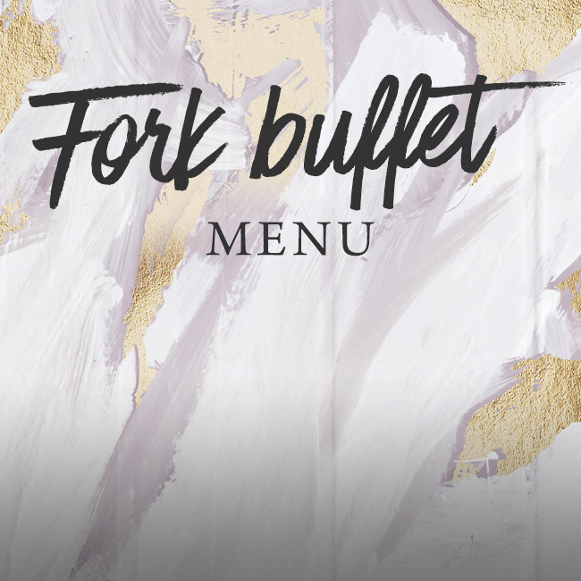 Fork buffet menu at The King's Arms