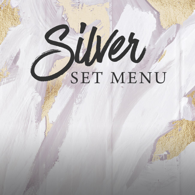 Silver set menu at The King's Arms