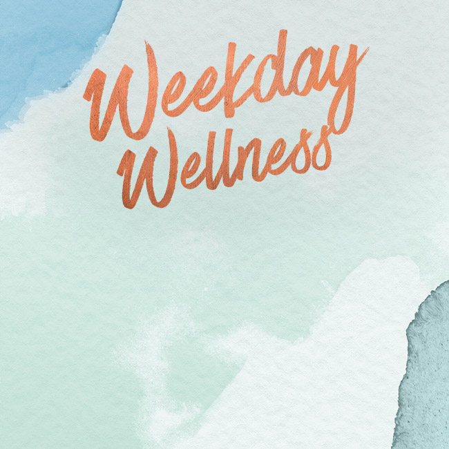 Weekday Wellness at The King's Arms