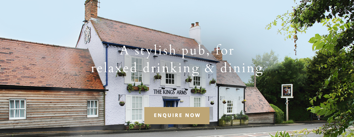 Welcome to The King's Arms